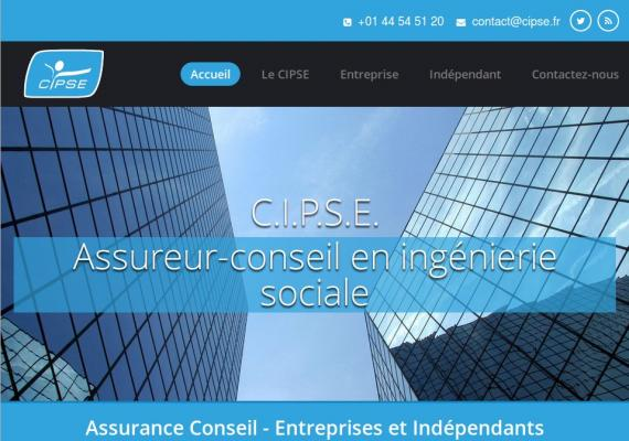CIPSE - site vitrine corporate - www.cipse.fr.